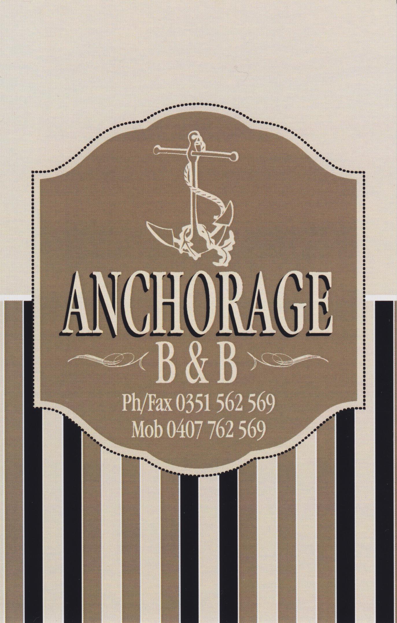 The Anchorage B&B