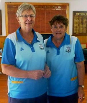Dorothy Schroeder & Pauline Clearson - runners up Champ of Champ Pairs 2019