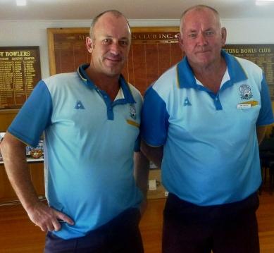 Richard Dooley & Jim Beale - runners up Champ of Champ Pairs 2019